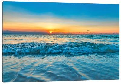 Aruba Blue Canvas Art Print