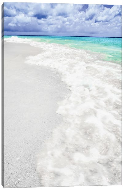 Caribbean Turquoise Canvas Art Print