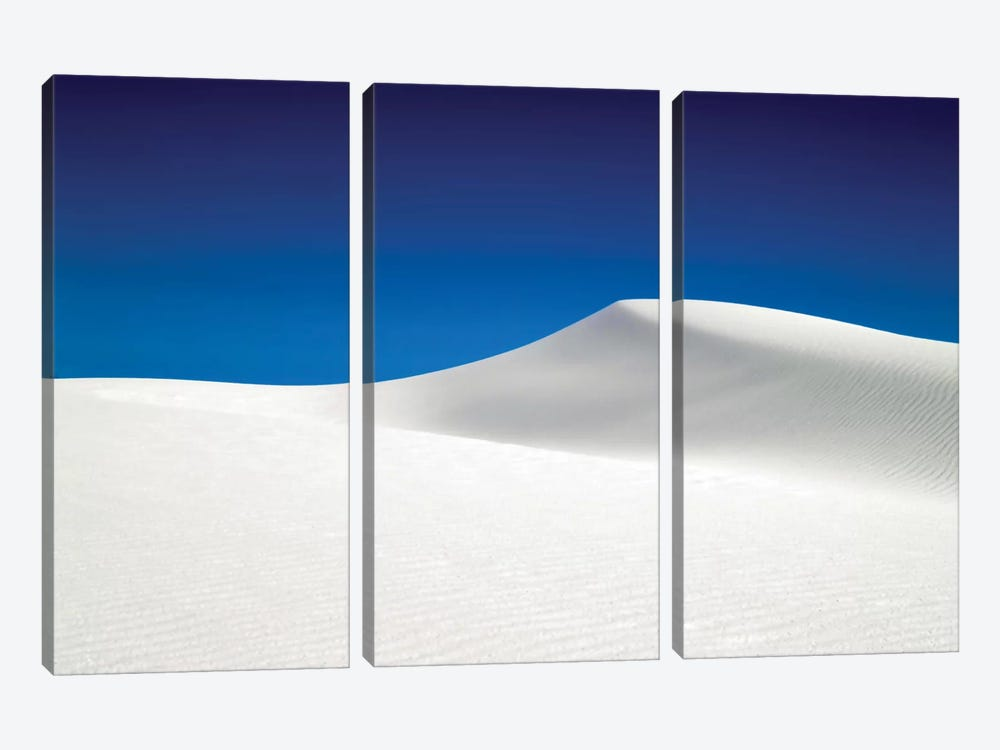 White Sands National Park II by Mark Paulda 3-piece Canvas Wall Art