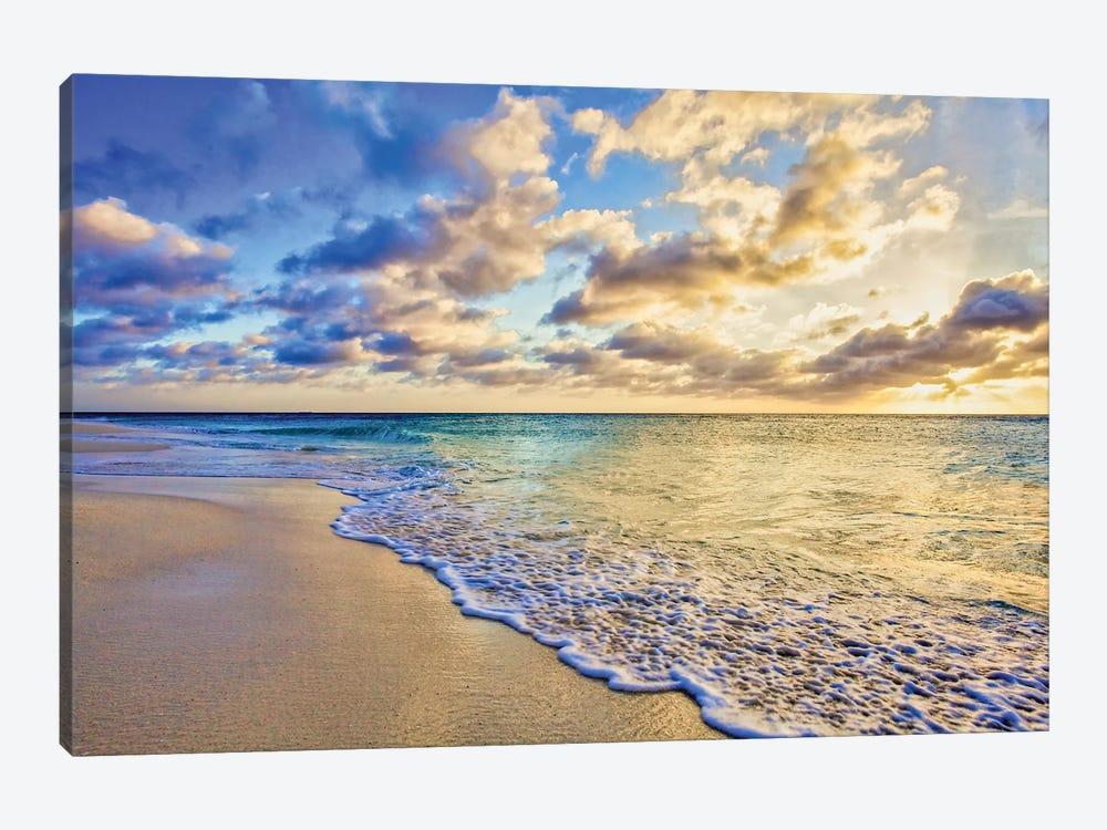 Aruba Calm Golden Wave by Mark Paulda 1-piece Canvas Art Print