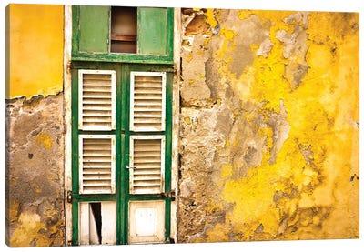 Curaçao Color Canvas Art Print