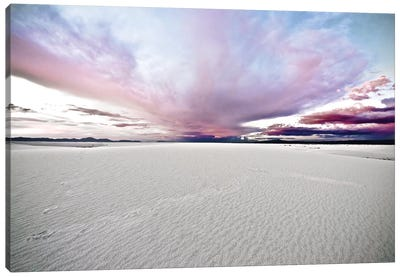 White Sands National Park III. Canvas Art Print