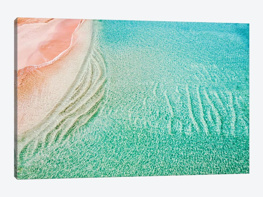 St Barths Turquoise by Mark Paulda 1-piece Canvas Wall Art