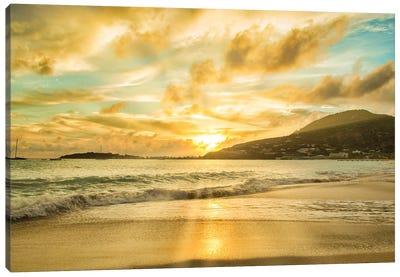 Caribbean Sunset Canvas Art Print