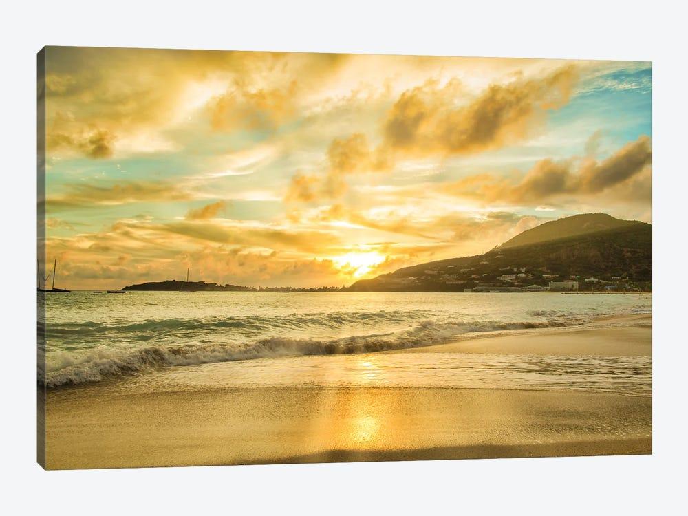 Caribbean Sunset by Mark Paulda 1-piece Art Print