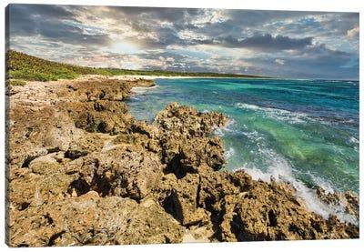Caribbean Shore Canvas Art Print