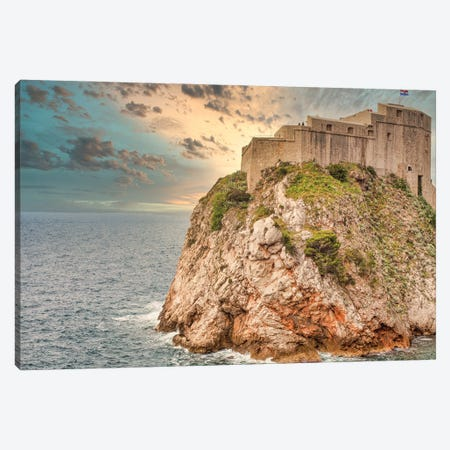 Castle On A Hill Canvas Print #PAU348} by Mark Paulda Canvas Wall Art