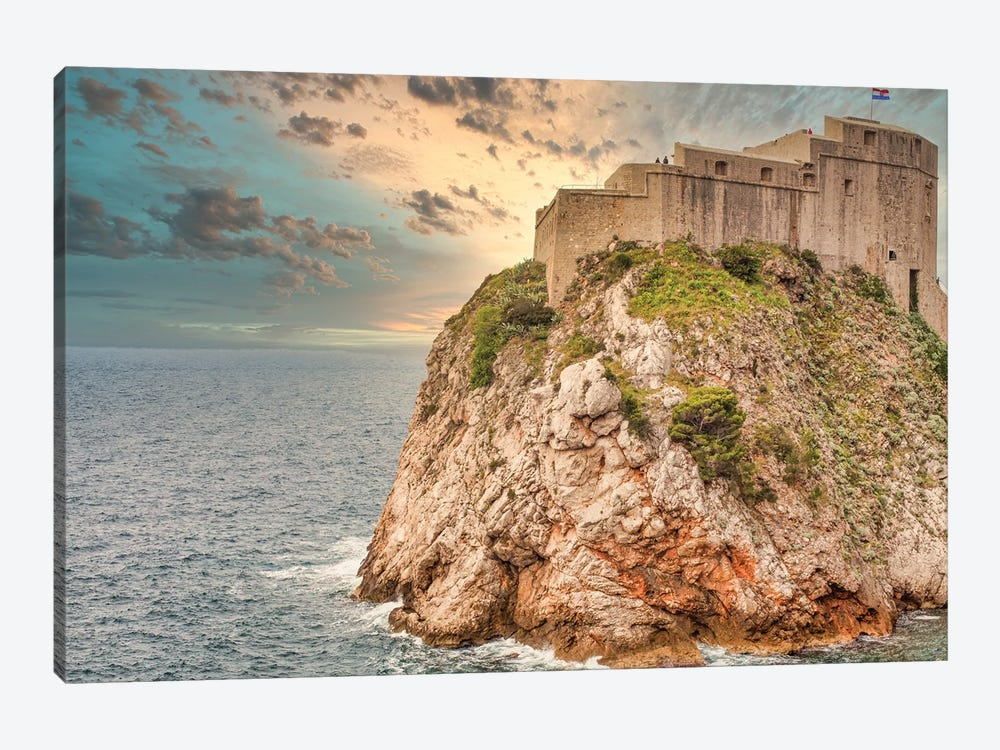 Castle On A Hill by Mark Paulda 1-piece Canvas Art
