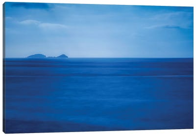 Adriatic Moon Glow Canvas Art Print