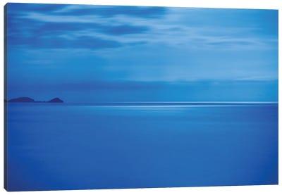 Adriatic Moon Shine Canvas Art Print