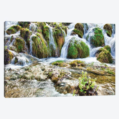 Plitvice Lakes National Park Canvas Print #PAU355} by Mark Paulda Canvas Artwork