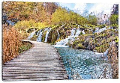 Plitvice Lakes Canvas Art Print