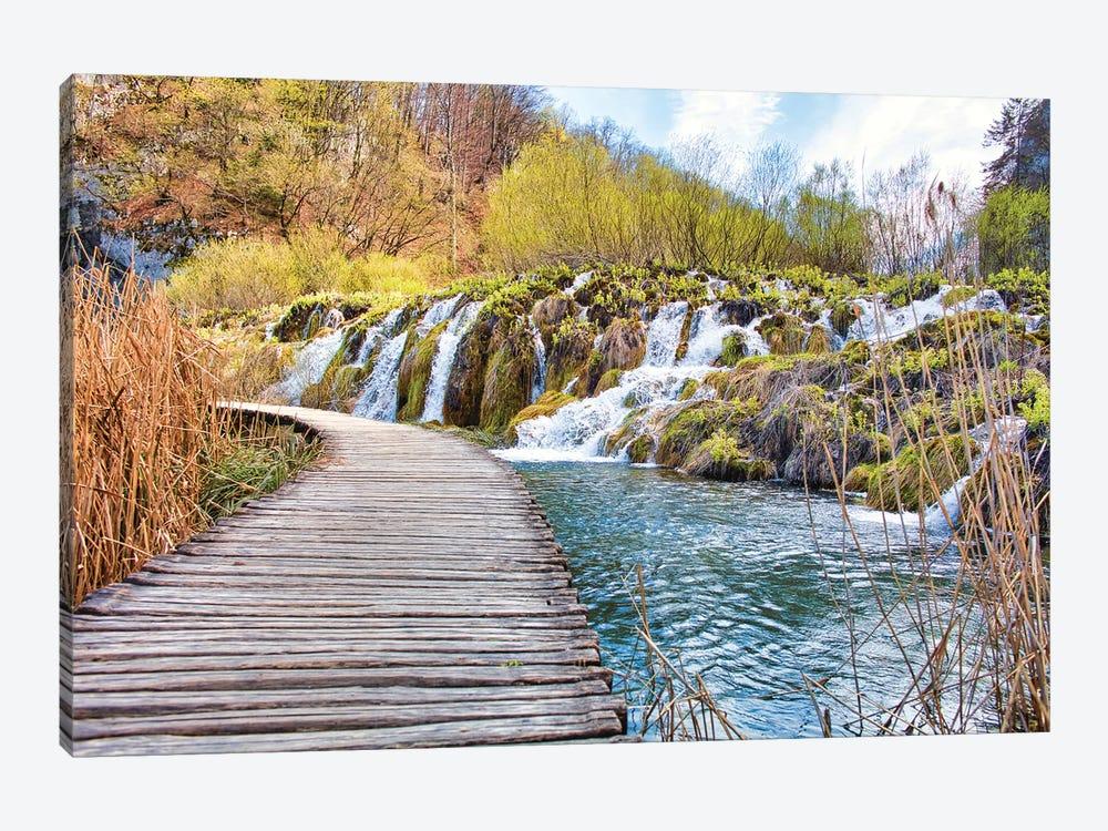 Plitvice Lakes by Mark Paulda 1-piece Canvas Print