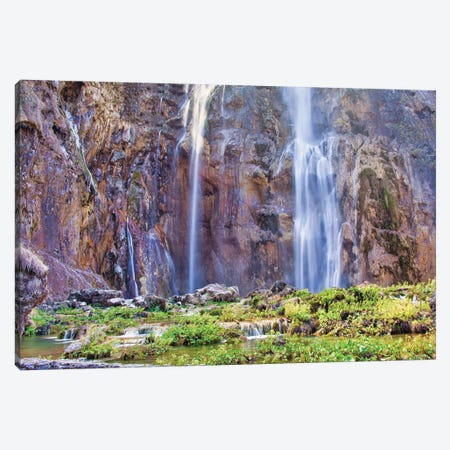 Croatia Plitvice Lakes Canvas Print #PAU357} by Mark Paulda Canvas Artwork