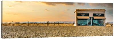 Prada Marfa Panoramic Canvas Art Print