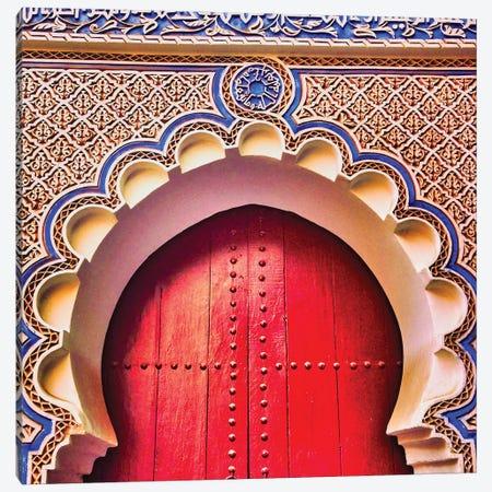 Moroccan Door Canvas Print #PAU378} by Mark Paulda Canvas Art Print