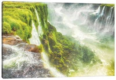Iguazu Mist Canvas Art Print