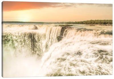Iguazu Sunset Canvas Art Print
