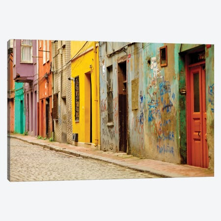 Beyoglu Alley, Istanbul, Turkey Canvas Print #PAU3} by Mark Paulda Canvas Print