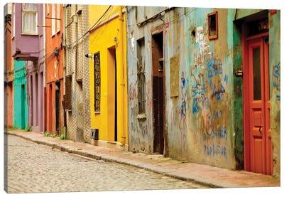 Beyoglu Alley, Istanbul, Turkey Canvas Print #PAU3