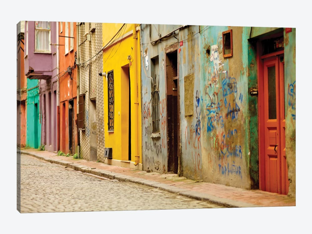 Beyoglu Alley, Istanbul, Turkey 1-piece Canvas Wall Art
