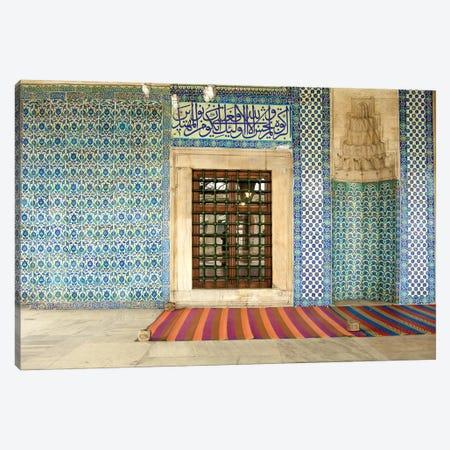Istanbul, Turkey Mosque Canvas Print #PAU47} by Mark Paulda Canvas Artwork