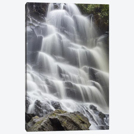 Bali Kanto Lampo Waterfall Canvas Print #PAU49} by Mark Paulda Canvas Print