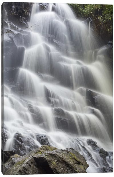 Bali Kanto Lampo Waterfall Canvas Art Print