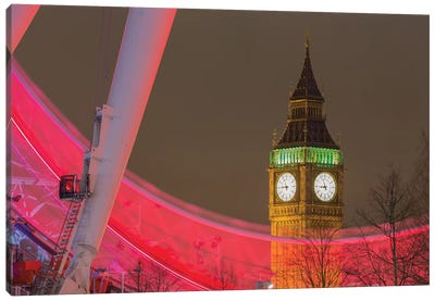 Big Ben And London Eye I Canvas Art Print