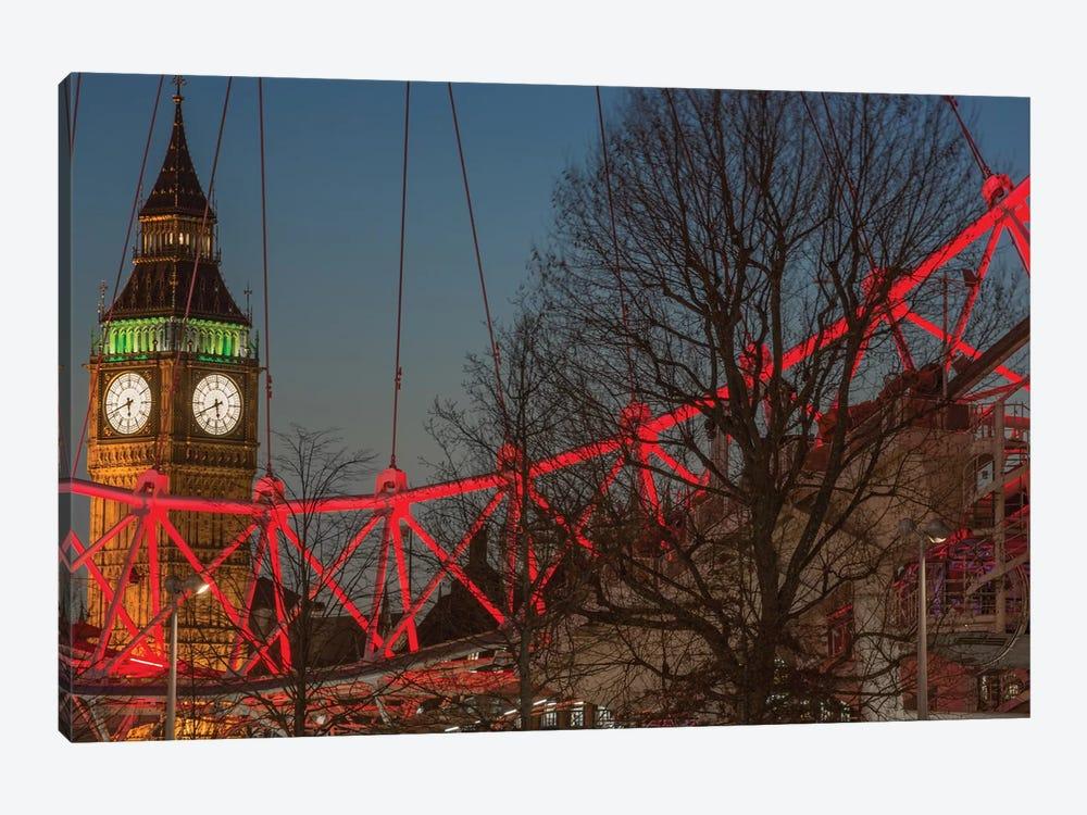 Big Ben And London Eye II by Mark Paulda 1-piece Canvas Wall Art
