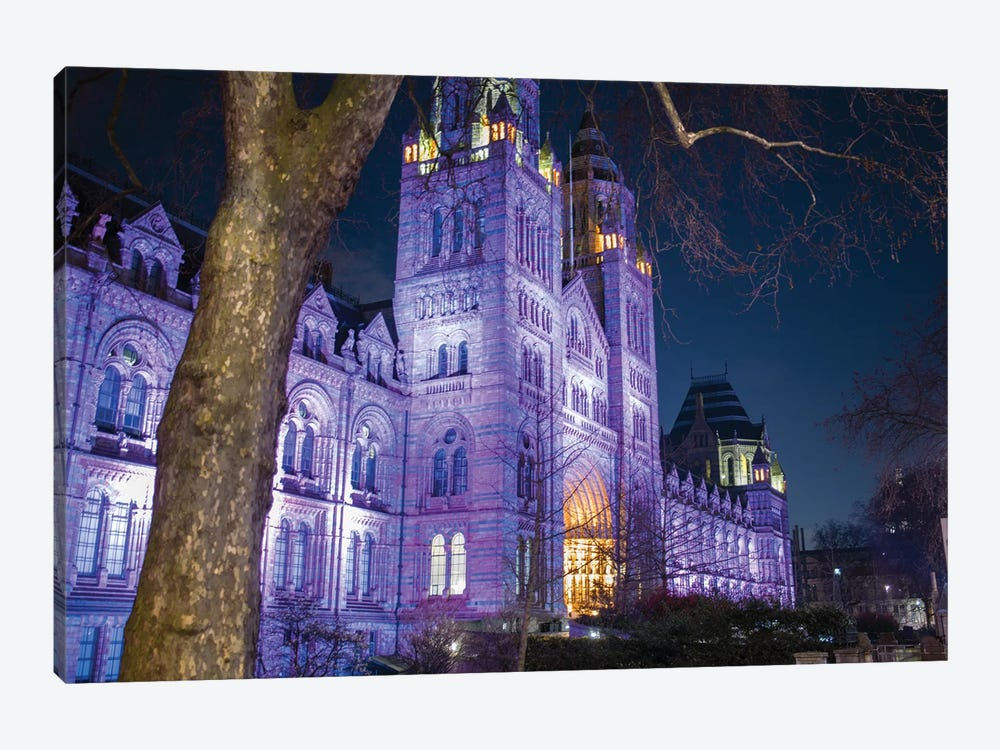 London Natural History Museum by Mark Paulda 1-piece Canvas Artwork