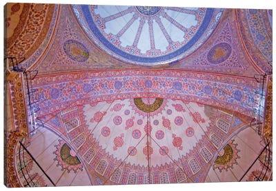 Blue Mosque, Istanbul, Turkey. Canvas Print #PAU6