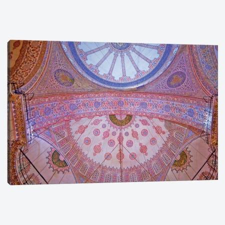 Blue Mosque, Istanbul, Turkey. Canvas Print #PAU6} by Mark Paulda Canvas Artwork