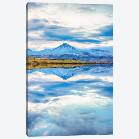 Snaefellsnesvegur, Iceland I 3-Piece Canvas #PAU70} by Mark Paulda Canvas Wall Art