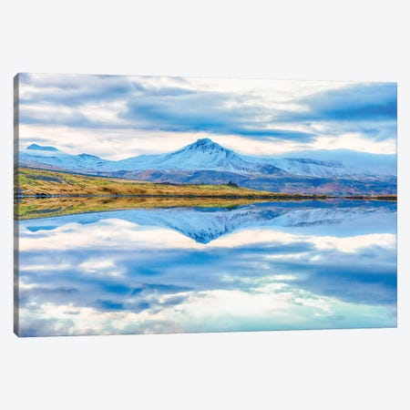 Snaefellsnesvegur, Iceland II 3-Piece Canvas #PAU71} by Mark Paulda Canvas Art