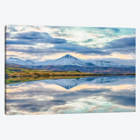 Snaefellsnesvegur, Iceland III 3-Piece Canvas #PAU72} by Mark Paulda Canvas Artwork