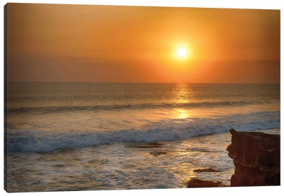 Bali Indian Ocean Sunset Canvas Art Print