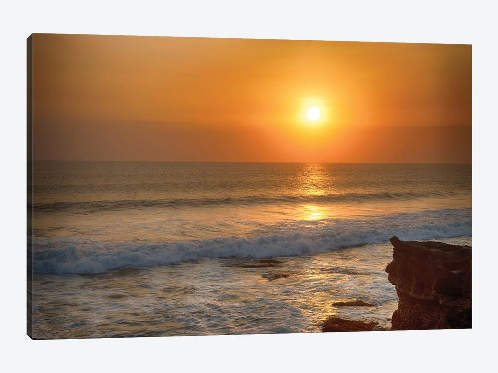 Bali Indian Ocean Sunset by Mark Paulda 1-piece Canvas Print