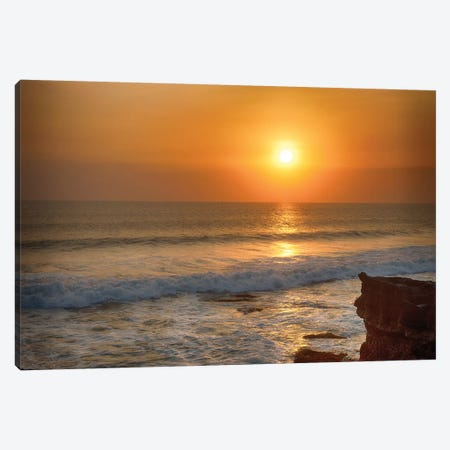 Bali Indian Ocean Sunset Canvas Print #PAU77} by Mark Paulda Canvas Art Print