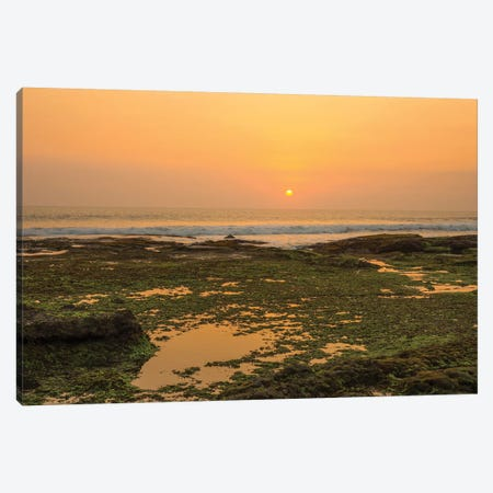 Bali Sunset Canvas Print #PAU78} by Mark Paulda Canvas Art