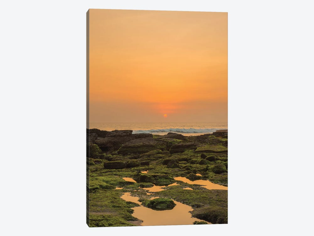 Bali Sunset Reflection by Mark Paulda 1-piece Canvas Art Print