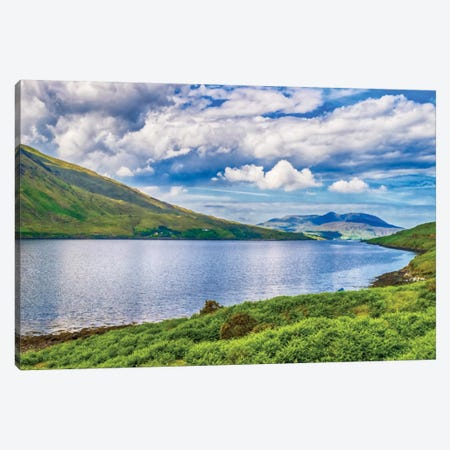 Connemara, County Galway, Ireland. Canvas Print #PAU7} by Mark Paulda Canvas Art