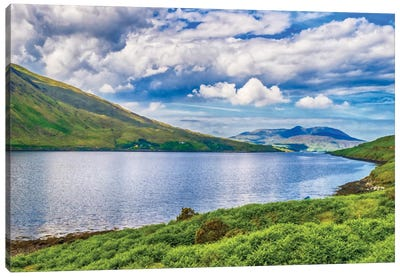 Connemara, County Galway, Ireland. Canvas Art Print