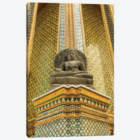 Bangkok, Thailand The Grand Palace Canvas Print #PAU80} by Mark Paulda Art Print