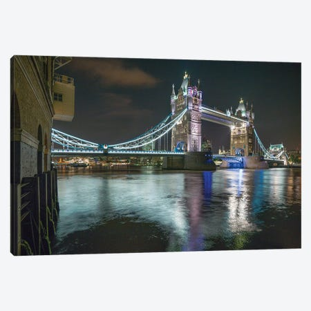 Tower Bridge, London Canvas Print #PAU88} by Mark Paulda Canvas Print