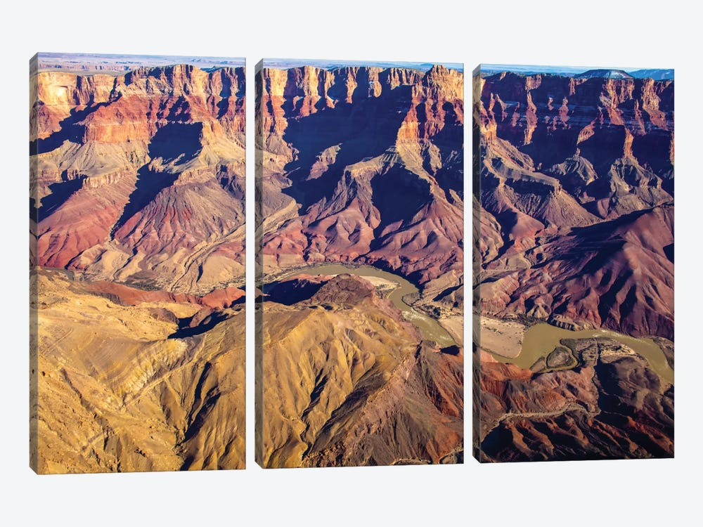 Grand Canyon XXXV by Mark Paulda 3-piece Canvas Art Print
