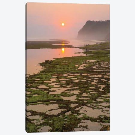 Bali Sunset Mist Canvas Print #PAU92} by Mark Paulda Canvas Art