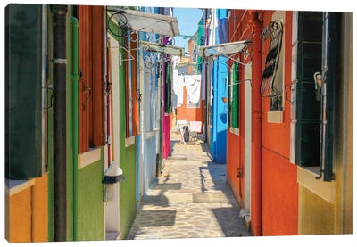 Burano, Italy Canvas Art Print