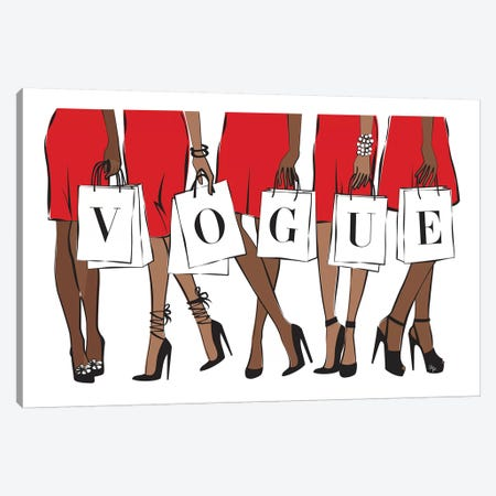Vogue II Canvas Print #PAV102} by Martina Pavlova Canvas Art