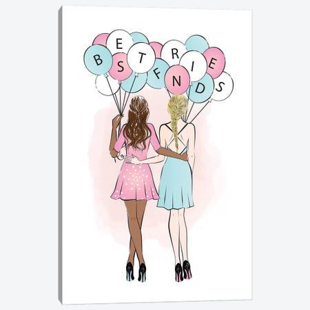 Best Friends II Canvas Print #PAV108} by Martina Pavlova Canvas Wall Art